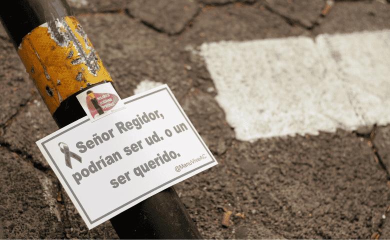 Sobre los bolardos en Puebla