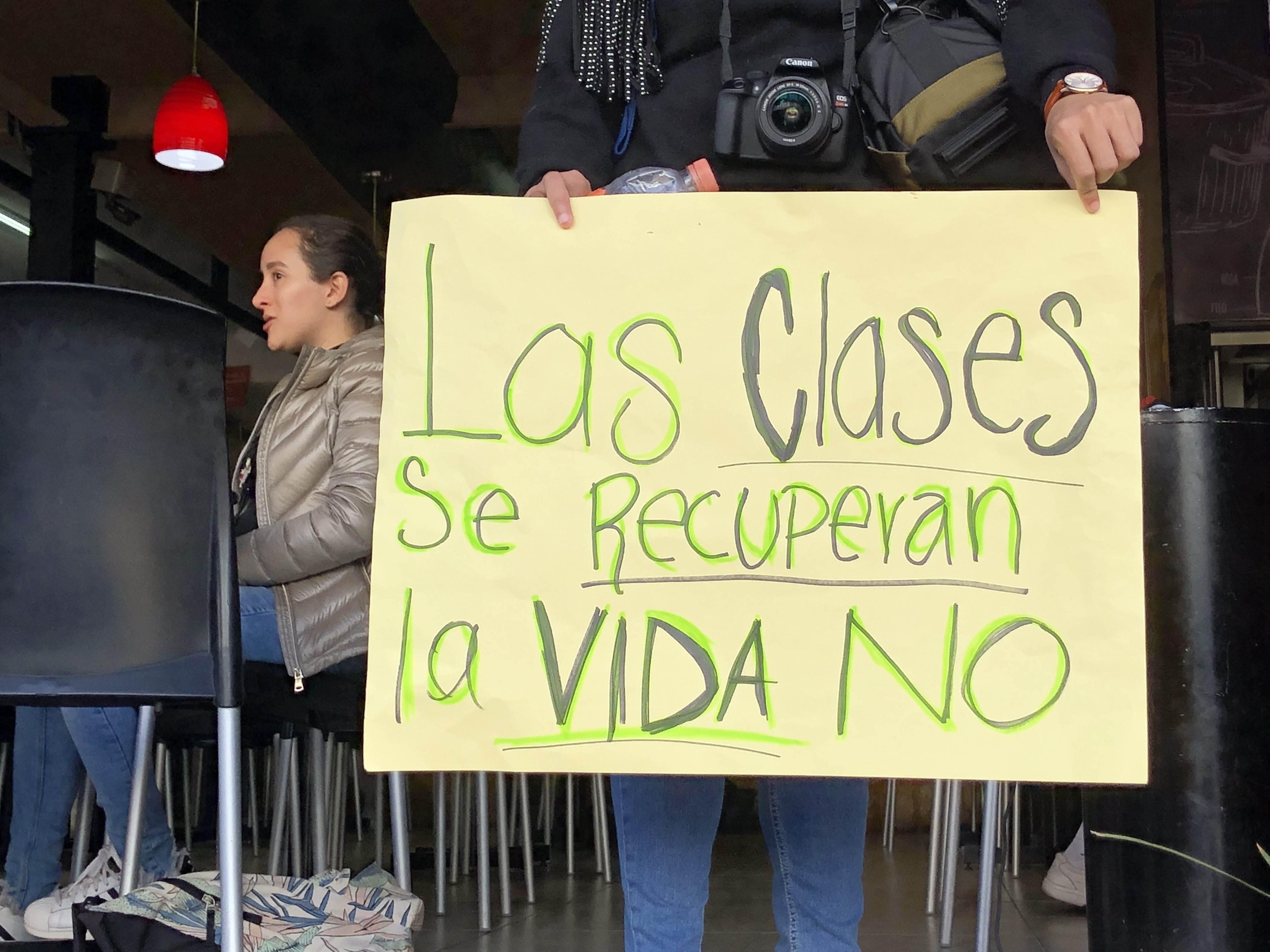 Cuarto día de protestas estudiantiles en Puebla