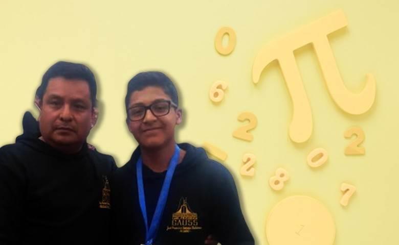 Poblano logra segundo lugar en concurso nacional de matemáticas