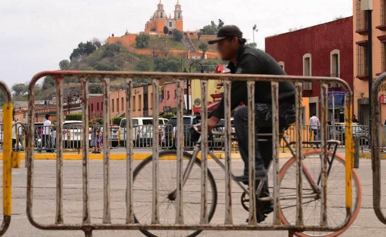 Gobierno de Cholula se lanza contra ciclistas