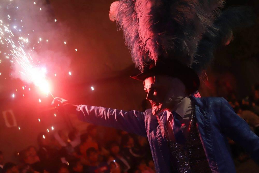 Las noches y días de Carnaval en el barrio de Xonaca