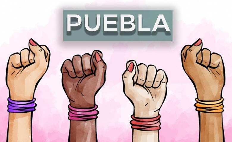 Actividades y protestas antes, durante y después del #8M en Puebla