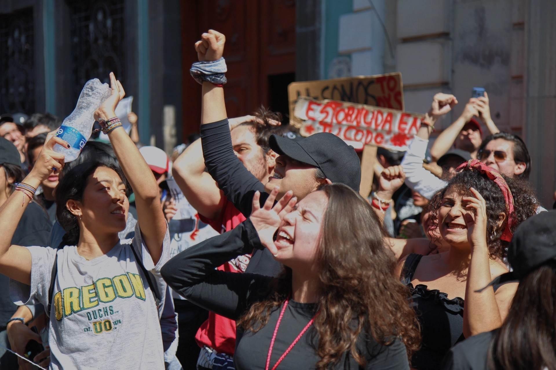 12 fotografías de la histórica protesta estudiantil del 5 de marzo