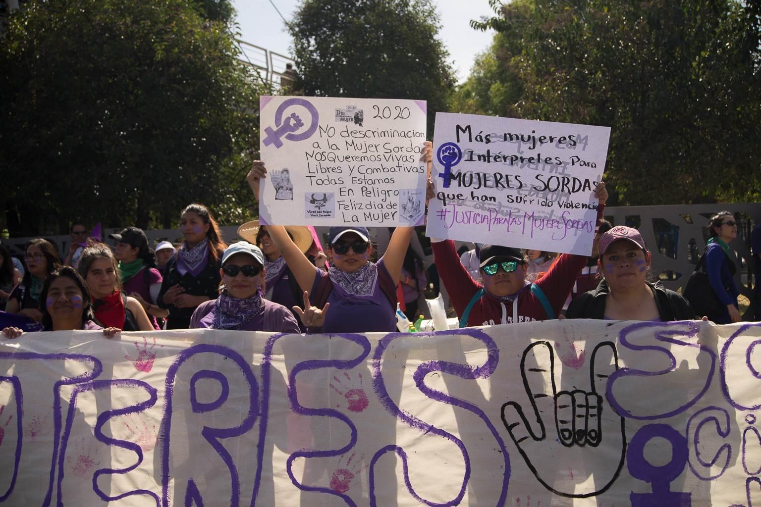 La histórica marcha del #8M en imágenes