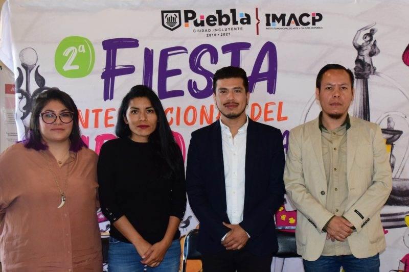 Presentaciones, música y talleres en la Feria del Libro Internacional Puebla 2020