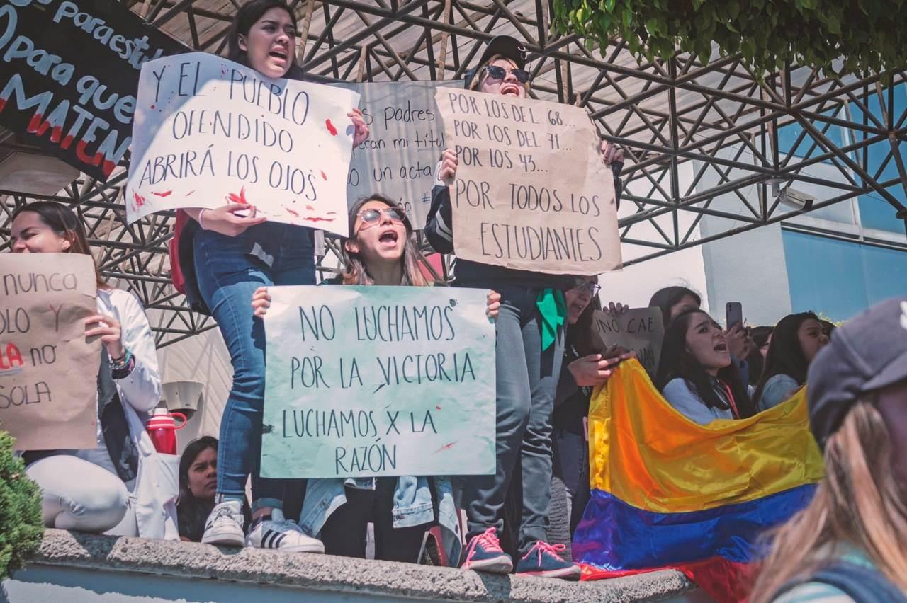 Así ha sido la segunda semana de protestas estudiantiles en Puebla