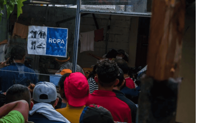 El gobierno se olvida de las Casas de Migrantes durante la crisis del coronavirus