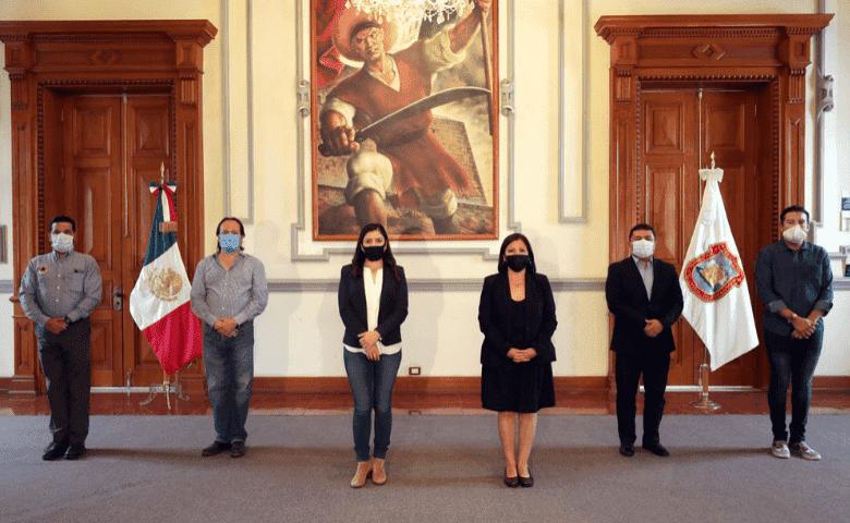 Claudia Rivera anuncia cambios y ratificaciones en el ayuntamiento