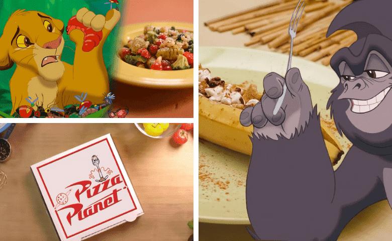 Sin costo: Disney y Pixar te enseñan a hacer los platillos que salen en sus películas