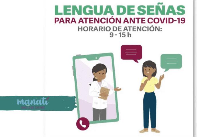 Orientan sobre covid-19 en Lengua de Señas Mexicana