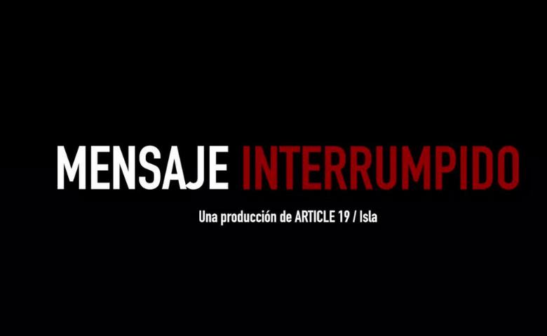 Documental que refleja los peligros de ser periodista en México podrá verse en línea