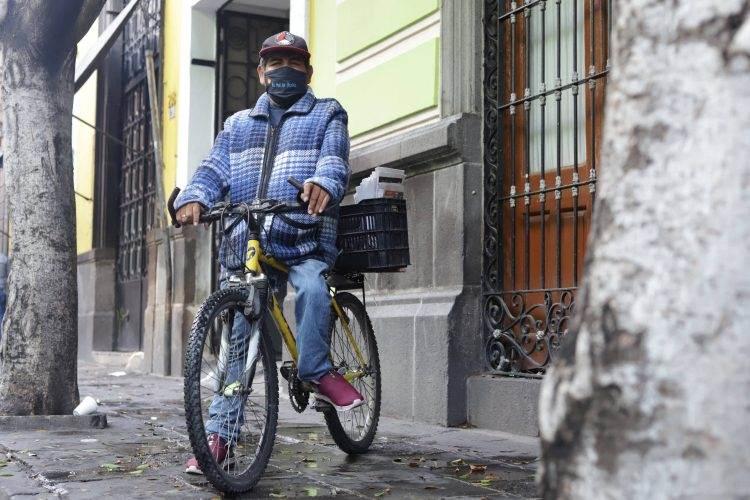 José Luis y la libertad que le dio una bicicleta
