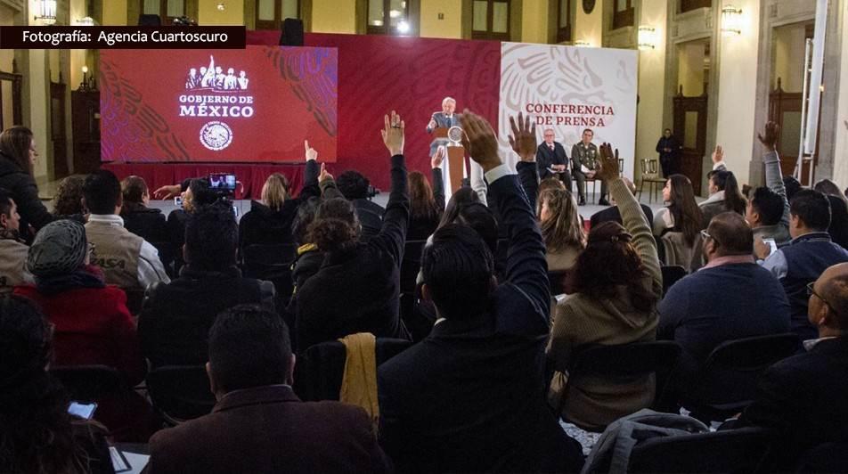 Gasto en publicidad oficial baja con AMLO…pero se mantiene opaco