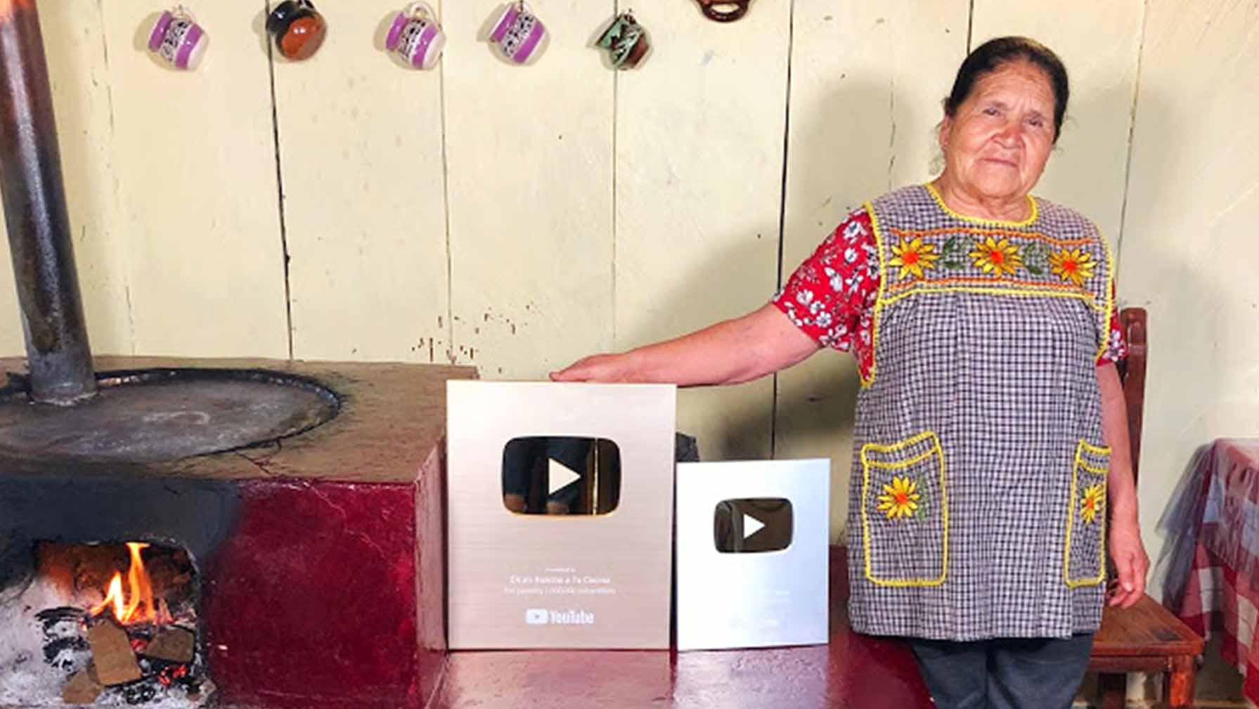 Doña Ángela, de Mi Rancho a tu Cocina, logra 3 millones de suscriptores