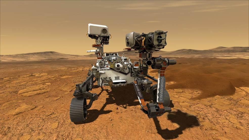 Perseverance, el robot que irá a Marte a buscar microbios