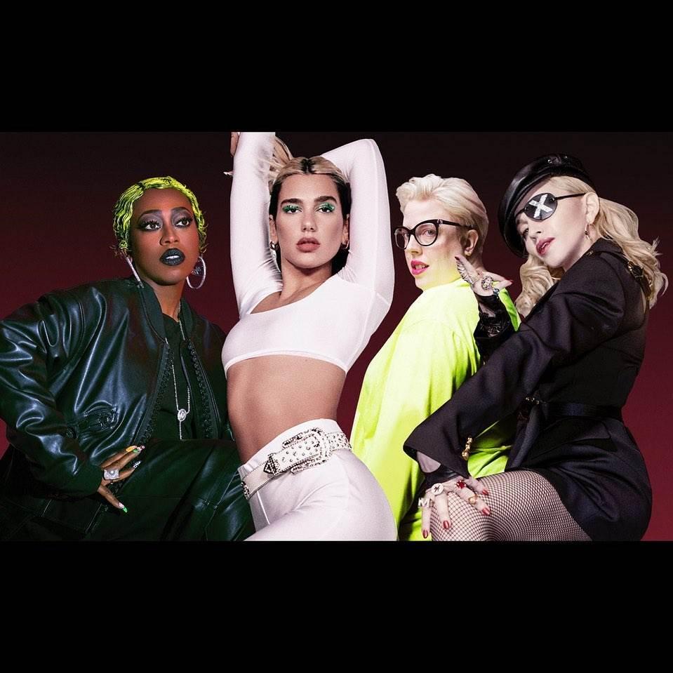 Dua Lipa estrenará remix con Madonna y Missy Elliott