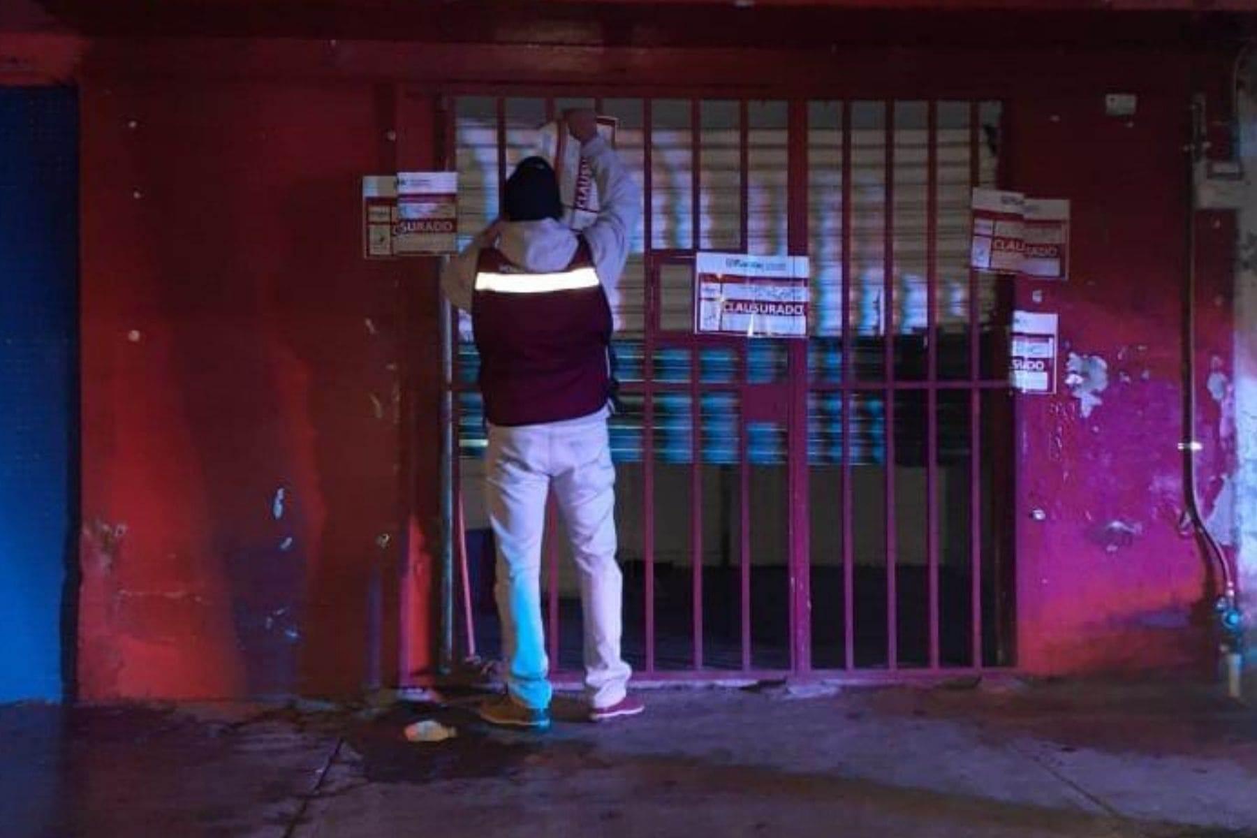 Otra vez clausuran bares y botaneros clandestinos; van 13 en una semana