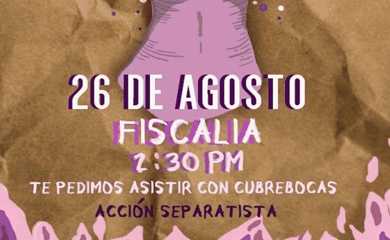 Convocan a protesta contra feminicidios en Puebla
