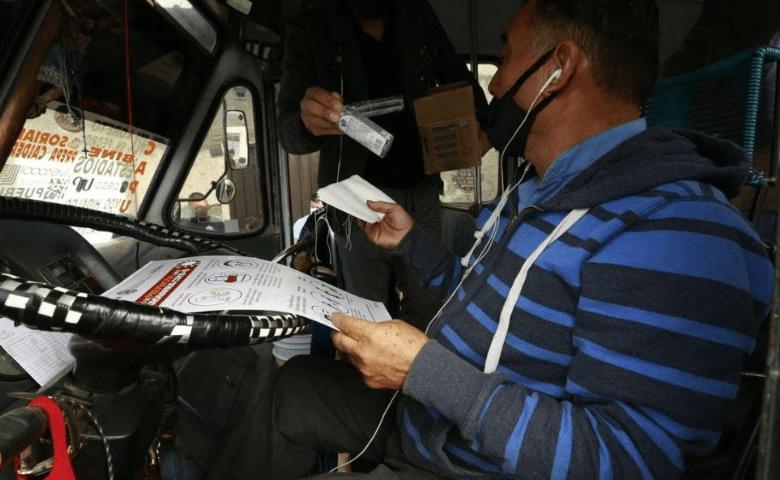 Detienen por robo a transporte público a una persona cada cuatro días en Puebla