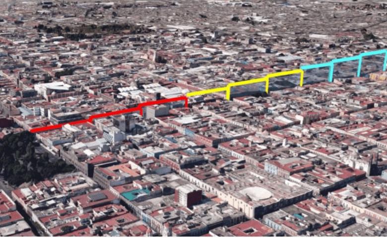 Corredor 5 de Mayo aumentará flujo peatonal y generará derrama de hasta 6 mdp: Ayuntamiento