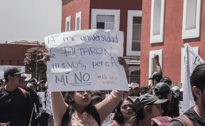 La BUAP frente al movimiento estudiantil contra el acoso sexual