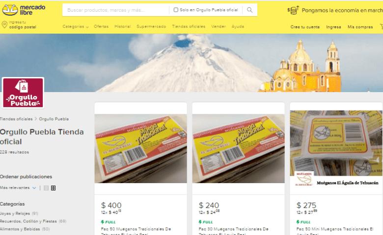 Ofertan productos de artesanos poblanos en tienda en línea