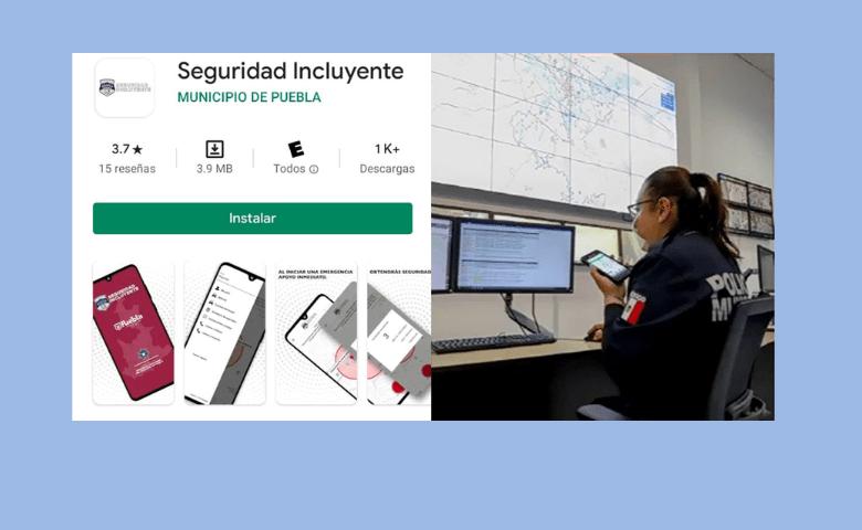 Lanzan app 'Seguridad Incluyente' con botón de pánico digital