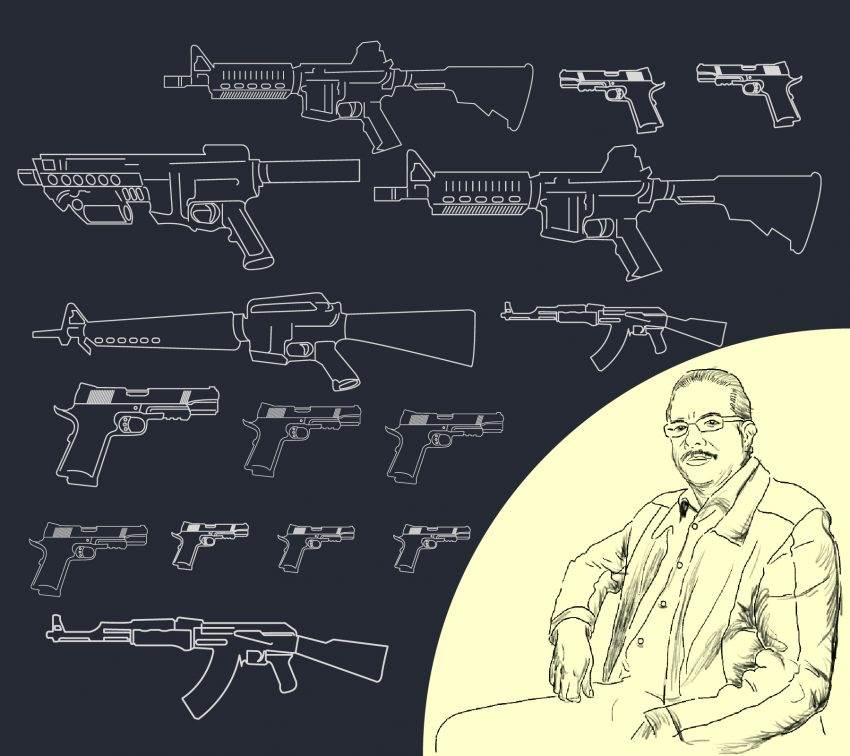 El mercado negro de armas. Una entrevista con Mauricio Saldaña Rodríguez