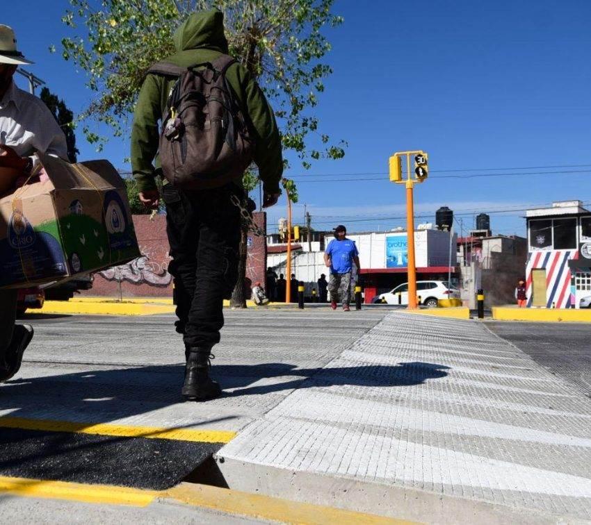 Adiós a los puentes antipeatonales en Puebla