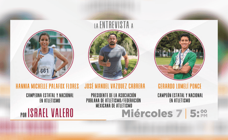 Campeones de atletismo compartirán sus experiencias a través de charla virtual