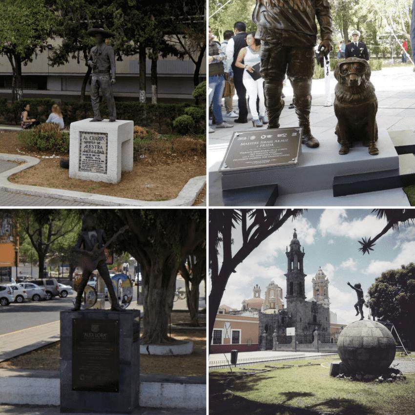 Estatuas y/o monumentos de Puebla que tal vez no conocías