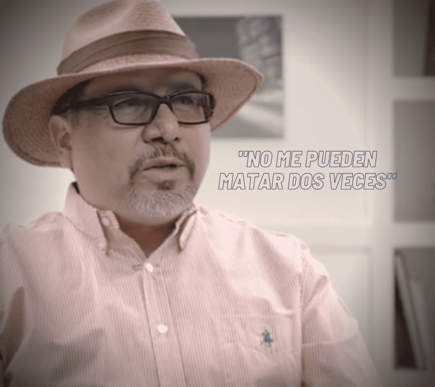 Mediante inteligencia artificial, recrean a Javier Valdez para exigir justicia por periodistas asesinados