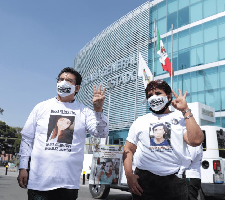 Tres años en búsqueda de Nadia Guadalupe
