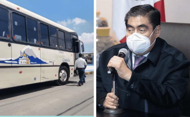Barbosa reconoce fracaso en la modernización del transporte público