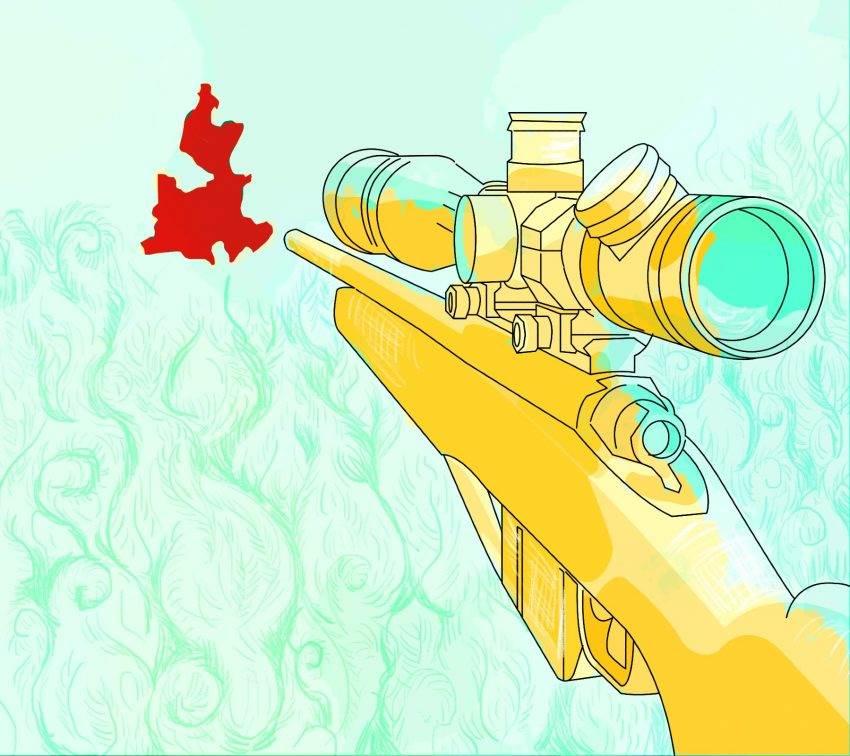 Violencia, armas e impunidad: la otra epidemia en Puebla