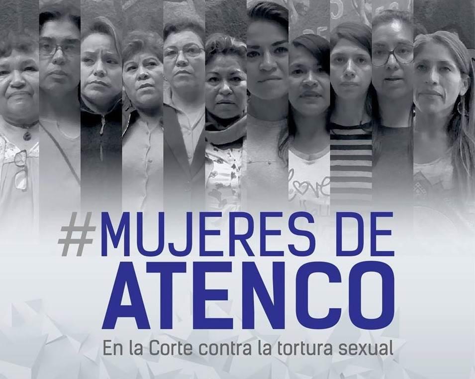 El 3 y 4 de mayo del 2006, durante una manifestación pública en San Salvador de Atenco, 31 mujeres fueron víctimas de tortura física, psicológica y sexual, perpetrada por el Estado mexicano tras detenerlas ilegalmente al reprimir la protesta. Fuente: Centro por la Justicia y el Derecho Internacional