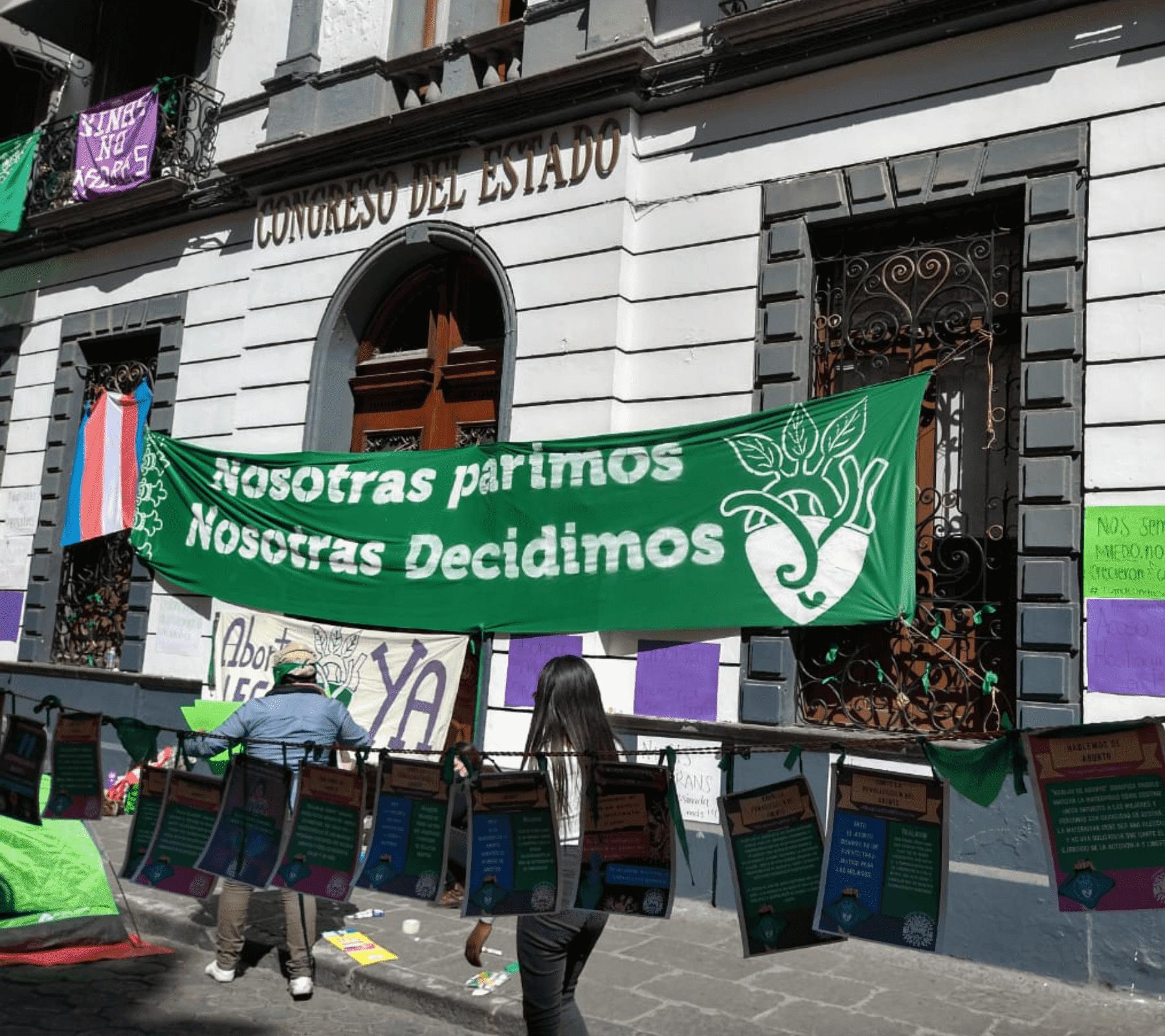 Congreso Puebla aborto