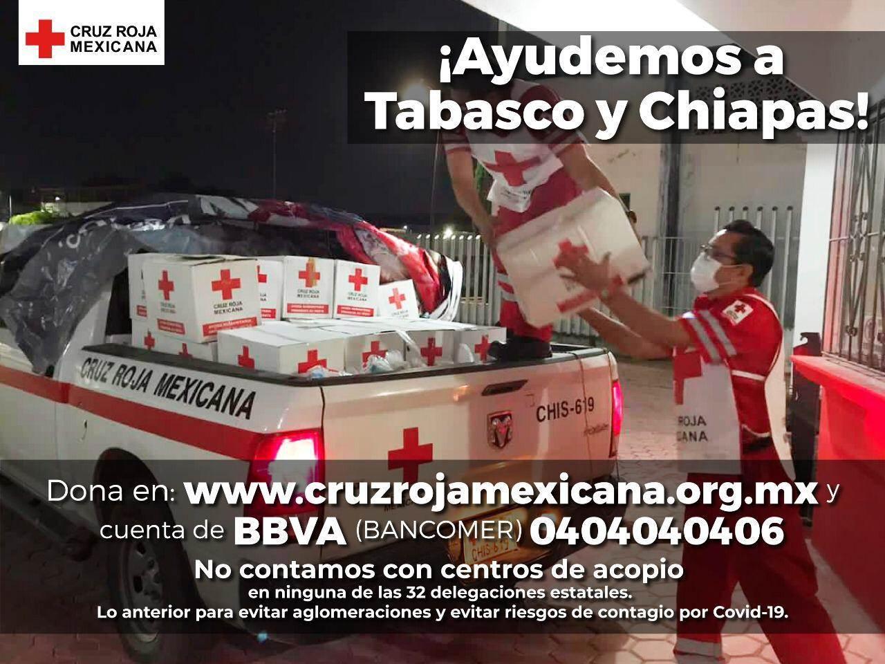 Dona en www.cruzrojamexicana.org.mx