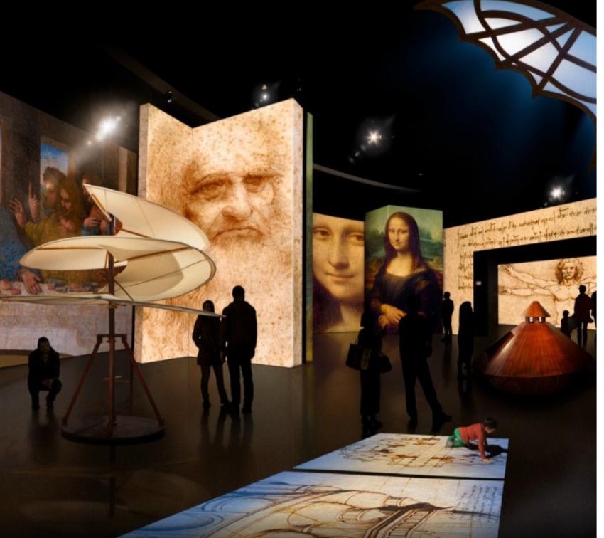 Llega exhibición Leonardo da Vinci al Museo Barroco