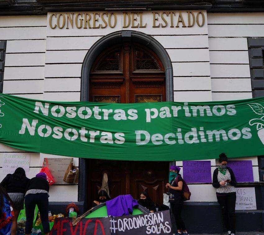 Las mujeres a las que el Congreso de Puebla no pudo seguir ignorando