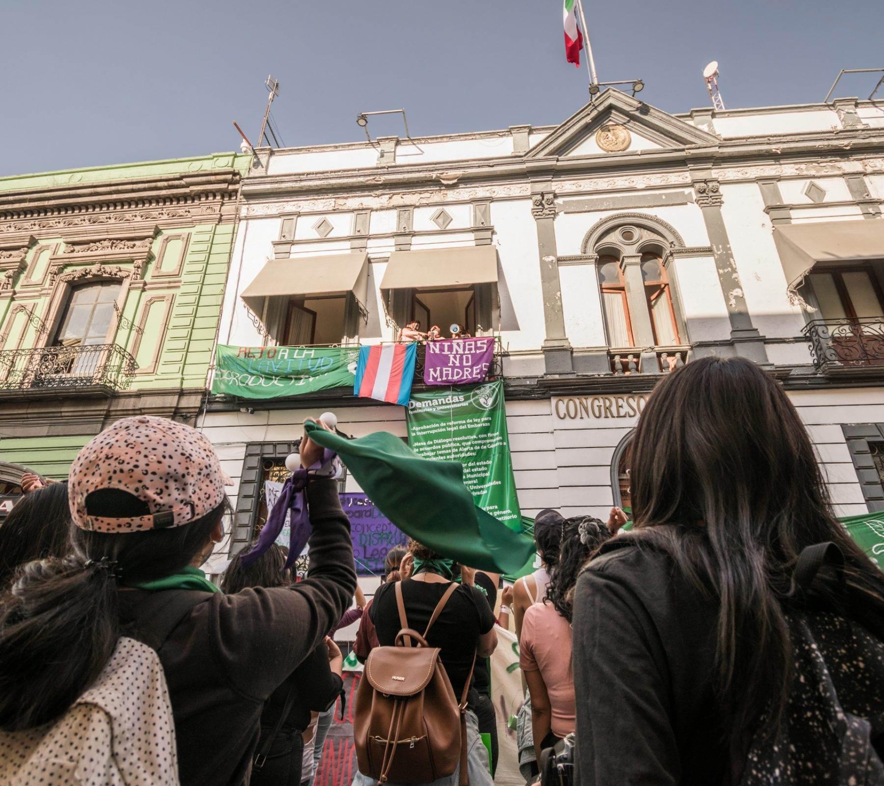Despenalización del aborto en Puebla