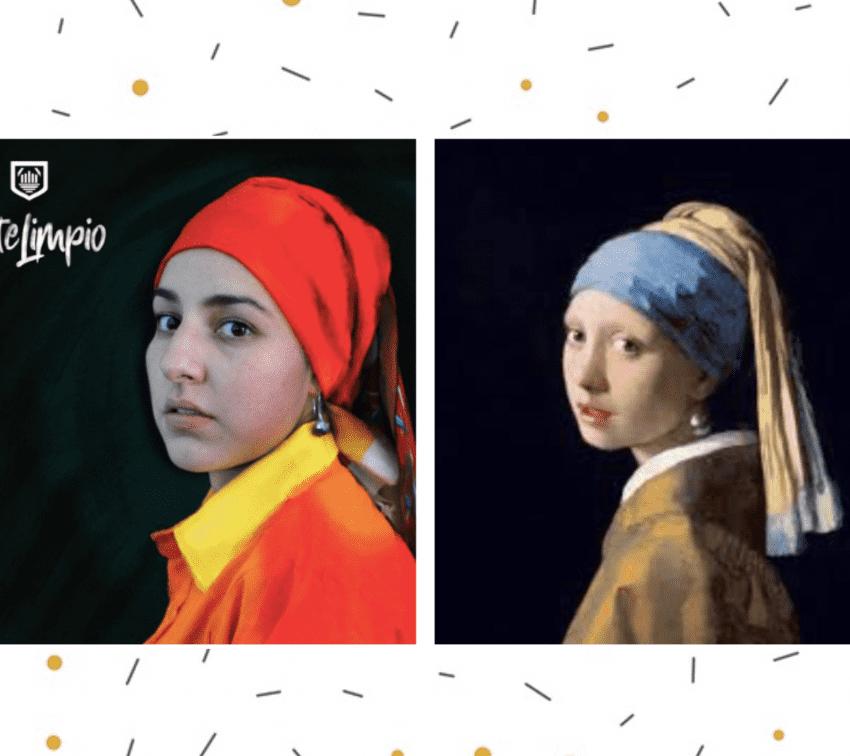 """""""Arte Limpio"""", una campaña para reconocer al personal de limpia"""
