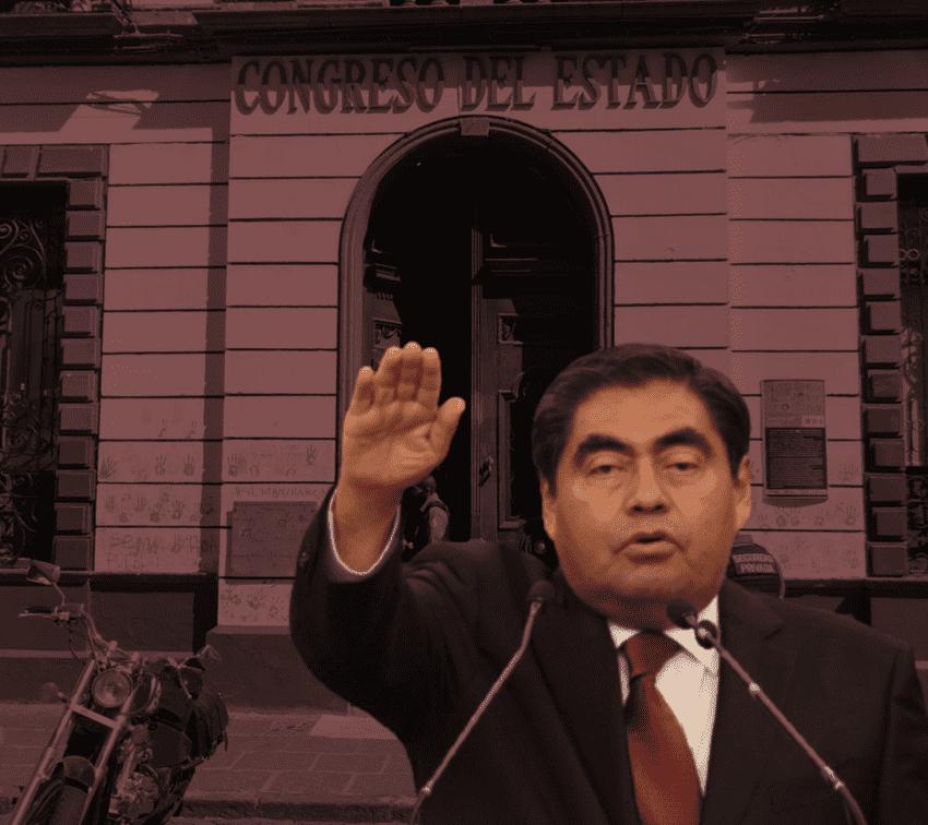 Rige Barbosa agenda legislativa del Congreso de Puebla