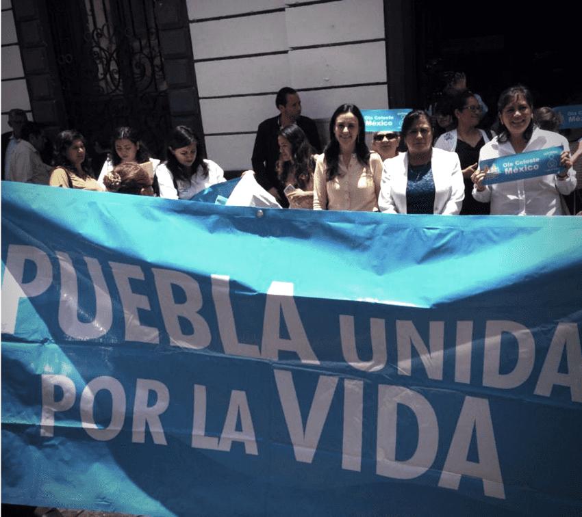 La ultraderecha se agita contra la despenalización del aborto en Puebla
