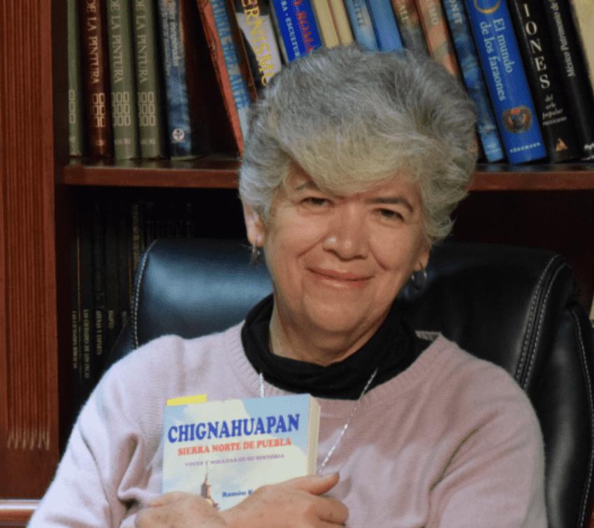 Deogracias Ortega, primera mujer cronista de Chignahuapan