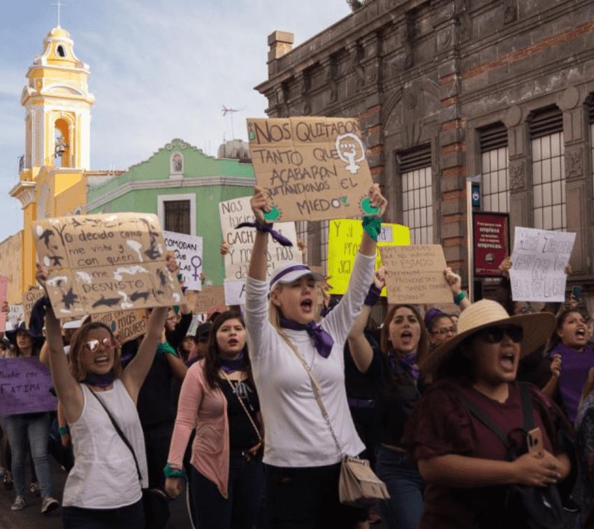 Cuatro municipios de Puebla despuntan en el país por crímenes contra mujeres