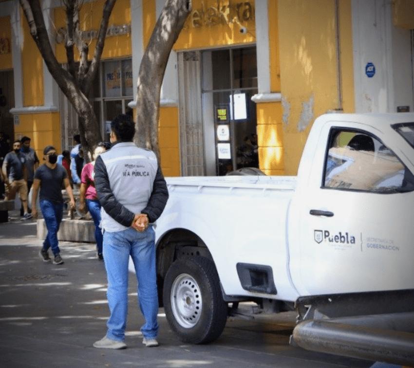 Ambulantes de Fuerza 2000 y 11 de marzo son denunciados por el Ayuntamiento de Puebla