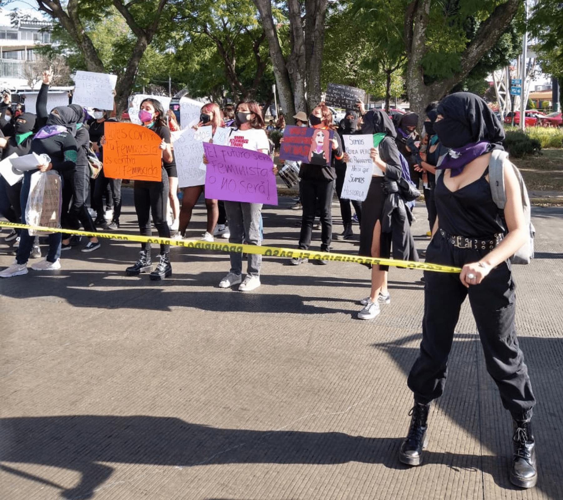 manifestación mujeres puebla (1)