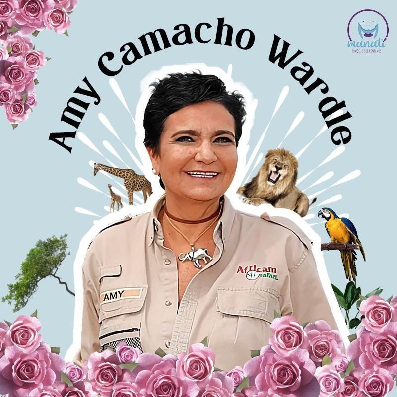 Amy Camacho Wardle heredó a los 17 años un zoológico al que convirtió en el más importante de América Latina.  Consideramos que ha sido una de las mujeres poblanas que marcó este y otros años.