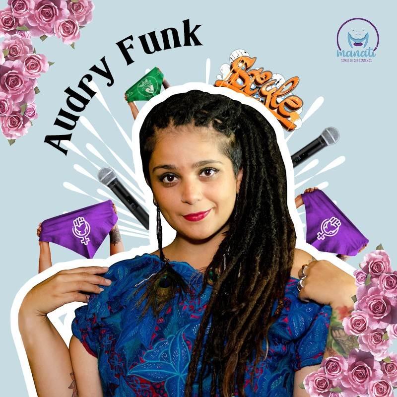 Audry Funk es una de las mujeres poblanas que hacen música que se ha posicionado dentro y fuera del estado.